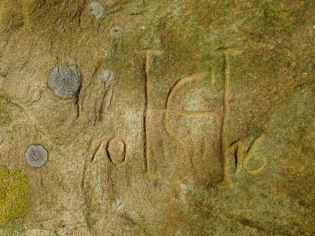 Brodgar Graffiti recent M Bell