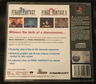 Final Fantasy back