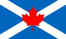 Flag of Scottish Canadians
