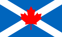 Flag of Scottish Canadians