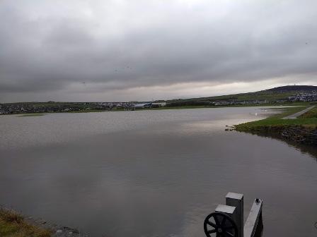 Flooding Peedie Sea 7 10 2 19