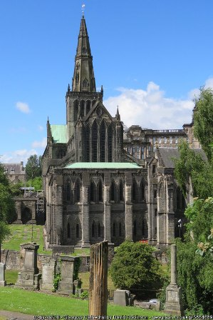 Glasgow Cathedral by David Robinson