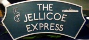 Jellicoe Express nameplate