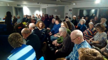 Laura Watts talk audience
