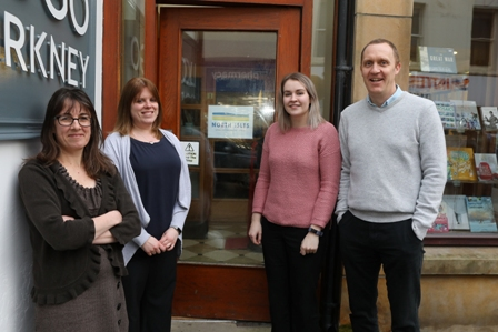 North Isles landscape partnership staff  pic orkney photographic