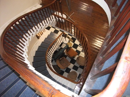 Orkney Museum staircase B Bell