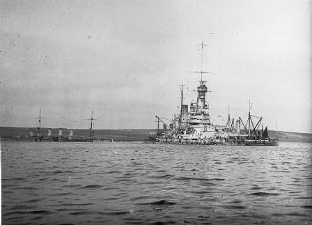 Salvage at Scapa Flow