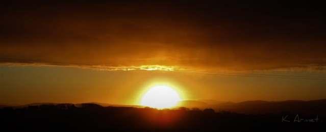 Sunset over Hoy KA 17 02 19