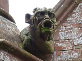 Broad St Kirkwall B Bell 4 Town Hall gargoyle