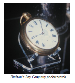 Hudson Bay pocket watch R Foden