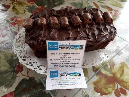 Julia's choc fudge cake