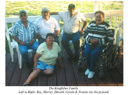 Kingfisher Family Twatt