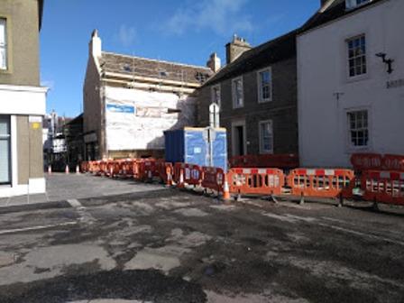 Kirkwall road works 1