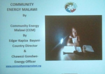 Malawi energy talk