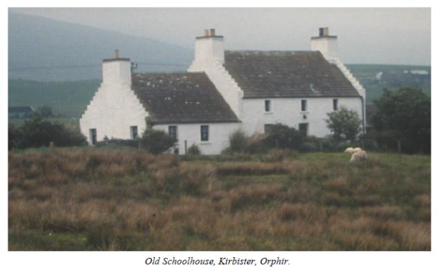 Old Schoolhouse Kirbister Orphir