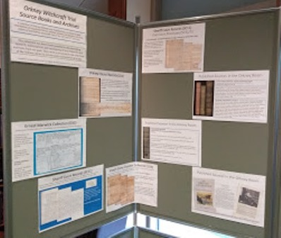 Orkney witchcraft display 1