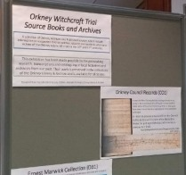 Orkney witchcraft display 2