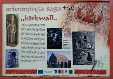 Orkneyinga Saga Trail Kirkwall