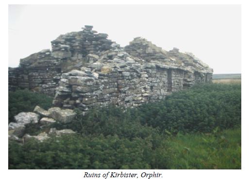 Ruins of Kirbister Orphir