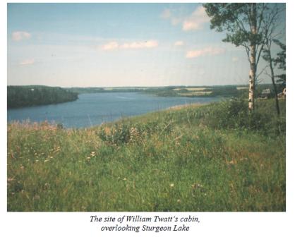 William Twatts cabin view