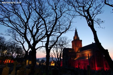 St Magnus Cathedral Go Orange