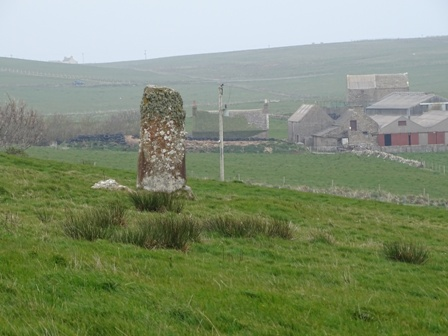 standing stone South Ronaldsay Bell
