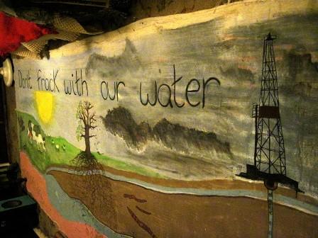 fracking banner