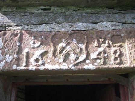 Woodwick House lintel Bell