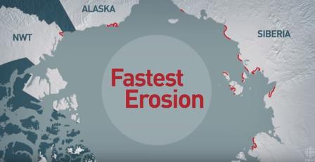 Arctic erosion