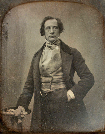 Charles Dickens by Claudet, 1852