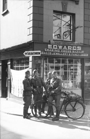 German soldiers in Channel Islands