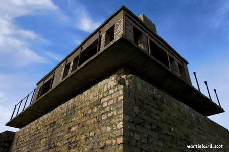 HMS Tern control tower