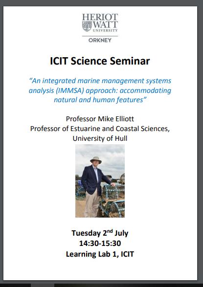 Science Seminar ICIT