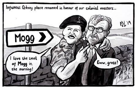 Twatt renamed iscot orkney news martin laird