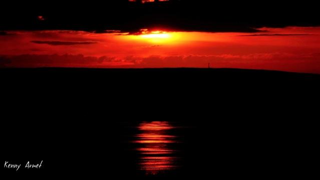 3 Sunset Kirkwall Bay 16th July 19
