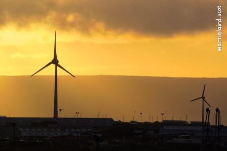 67m turbine located in Hatston, Kirkwall