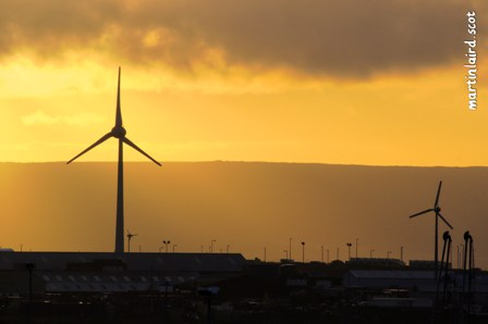 67m turbine located in Hatston, Kirkwall