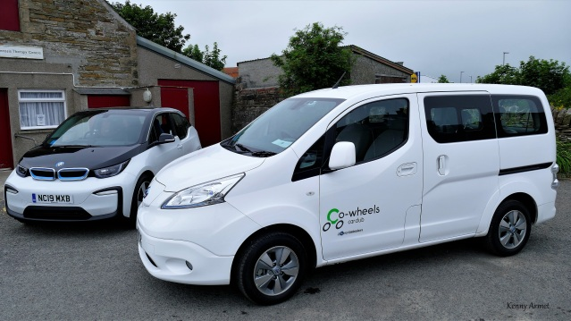 Co-wheels car club vehicles EVs