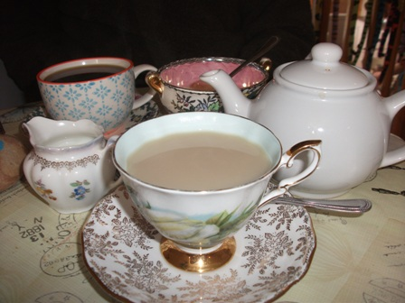 Fernvalley tea room Bell
