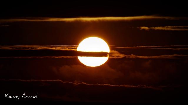 Sunset 19th July 2019