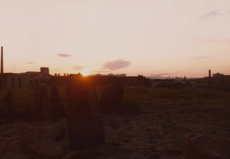 Midsummer sunset June 1981, Duncan Lunan