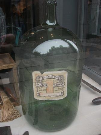whisky bottle Bernie Bell