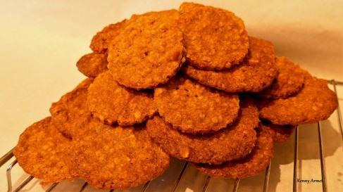 Helen`s Peanut Butter & Oat Cookies
