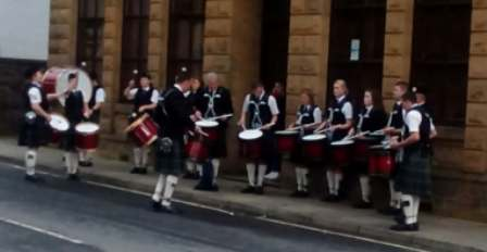 Kirkwall City Pipe Band Nick 1