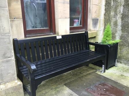 Kirkwall improvements bench BID