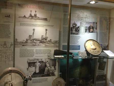 Stromness Museum HMS Vanguard