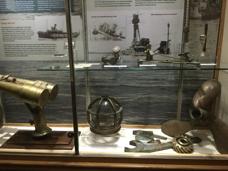 Stromness Museum SMS Konig lamp cage