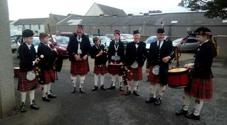 Rendall Pipe Band Nick 1