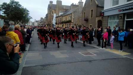 Stromness Pipe Band Nick 2