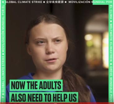 Climate Strike Greta Thurnberg